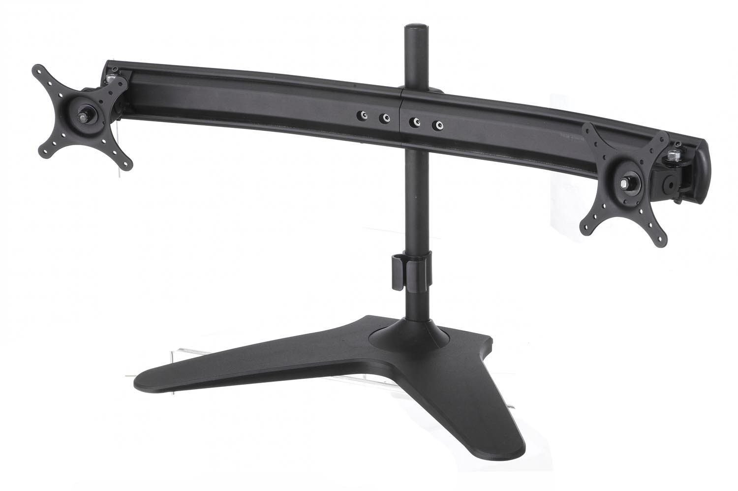 Elitech Dual LCD Monitor Stand Mount Free Standing, Monitor Sliding Arm, Refurbished
