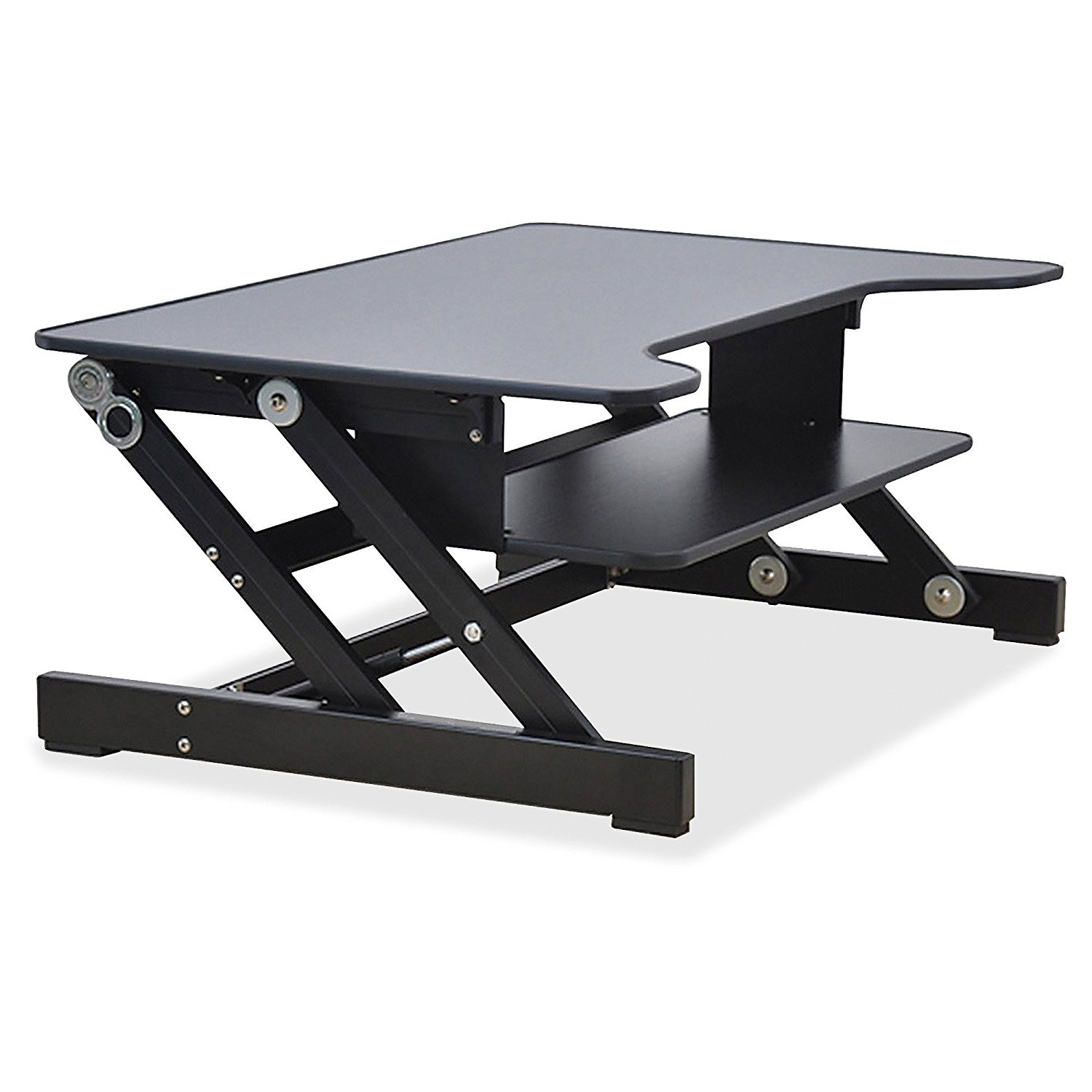Height Adjustable Standing Desk Sit to Stand Gas Spring Riser Converter