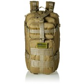 Expandable Tactical Molle Military Assault Rucksacks Backpack Daypack Bag Tan