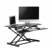 Elitech sit and stand desk converter