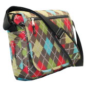 Expandable Notebook Bag Colorful