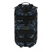 Large Expandable Tactical Molle Military Assault Rucksacks Backpack Daypack Bag  Camo Navy